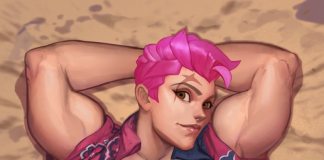Big boobs Zarya