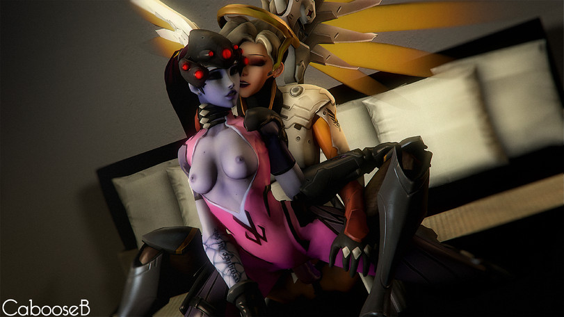 Mercy Fucking Widowmaker Futanari