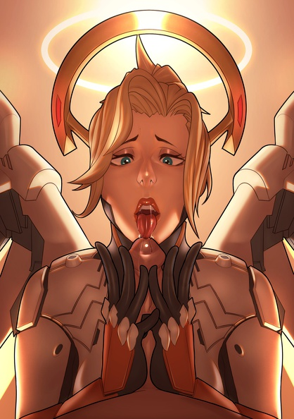 Mercy blowjob pov