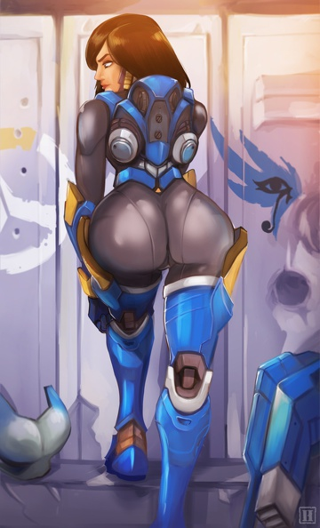 Pharah big sexy ass