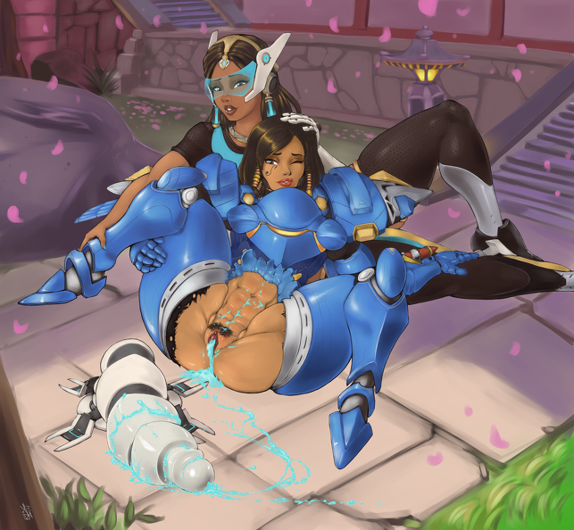 Pharah orgasm done