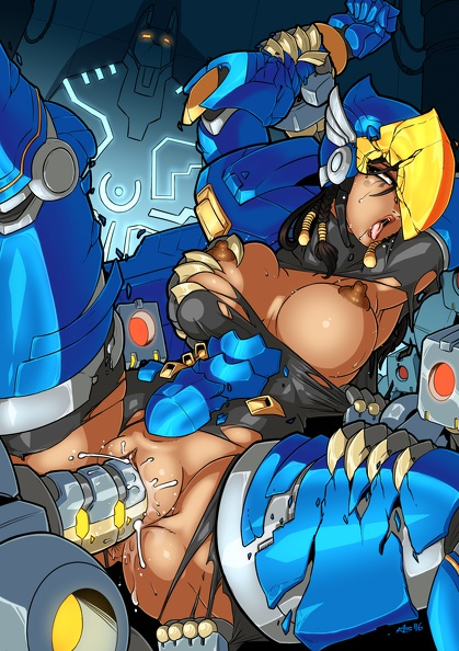 Pharah robot sex