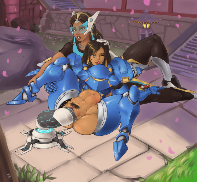 Girls in Overwatch have sex