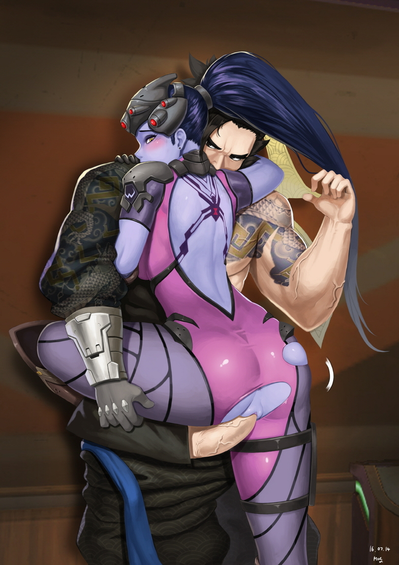 Widowmaker And Hanzo Fucking