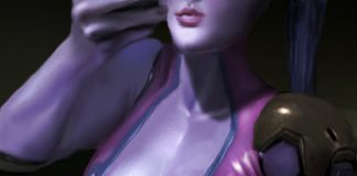 Widowmaker Futanari