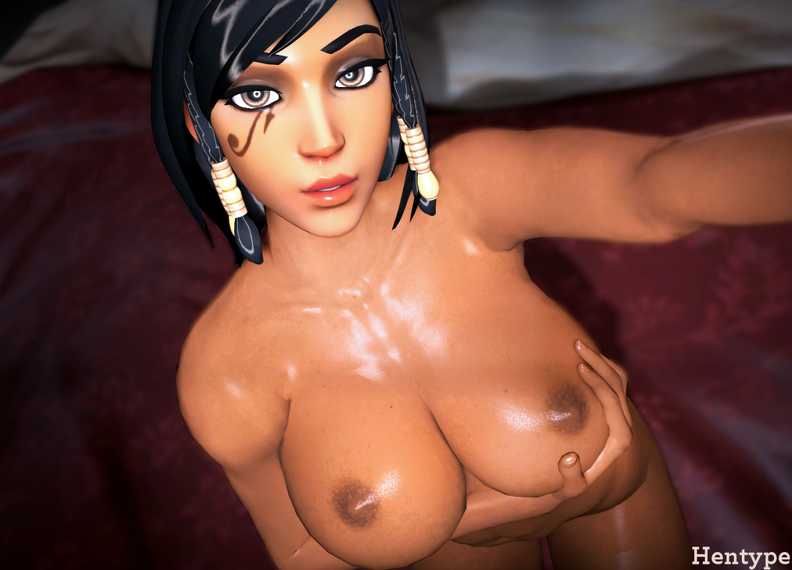 big boobs Pharah selfie