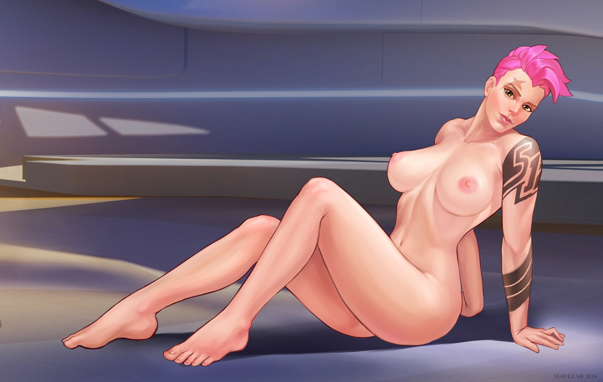 cute and sexy Zarya