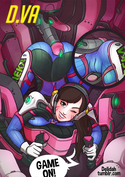 d.va sex machine rider