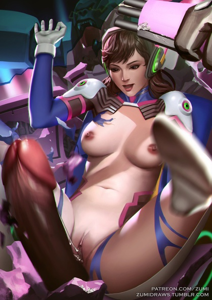 d.va whipped the cock