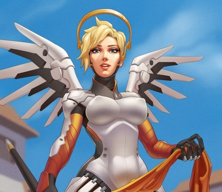 mercy showing pussy