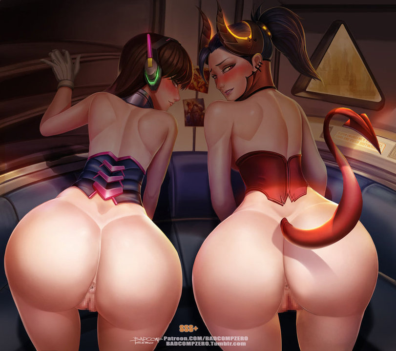 overwatch d.va and sexy mercy