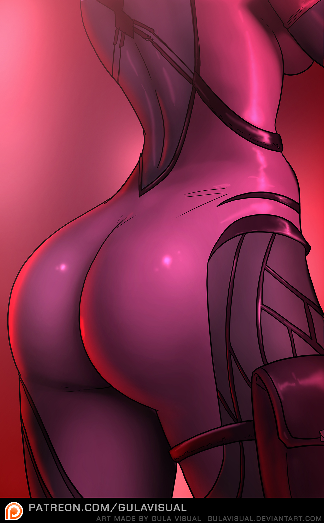 Widowmaker ass porn