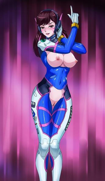sexy d.va hentai