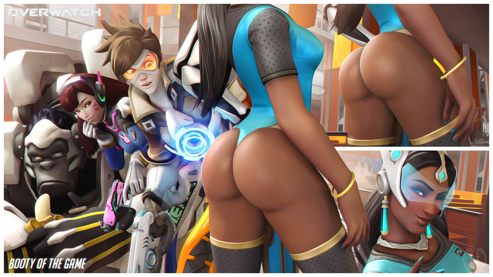 watching symmetra's sexy ass