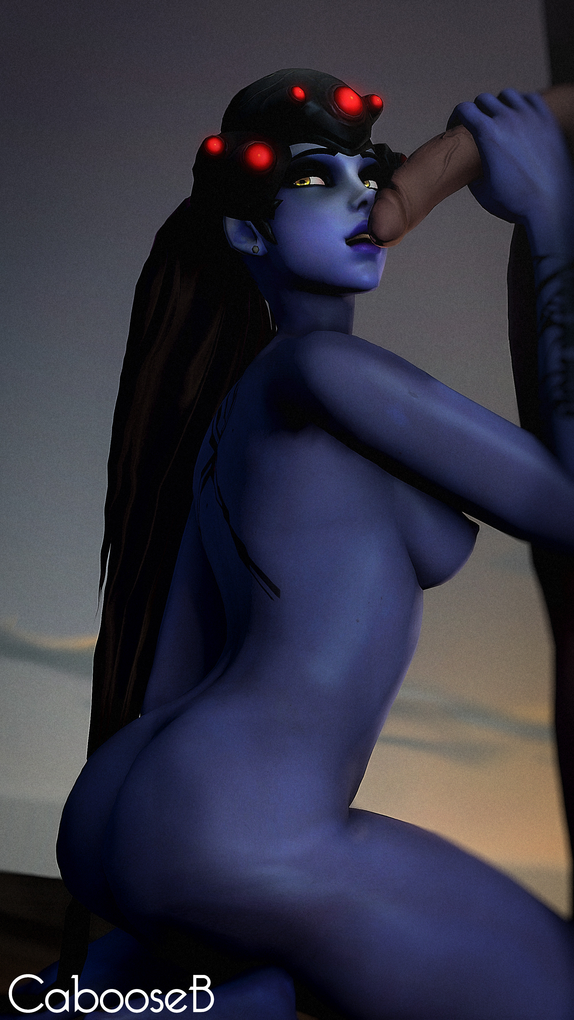 widowmaker blowjob