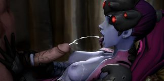widowmaker cumshot
