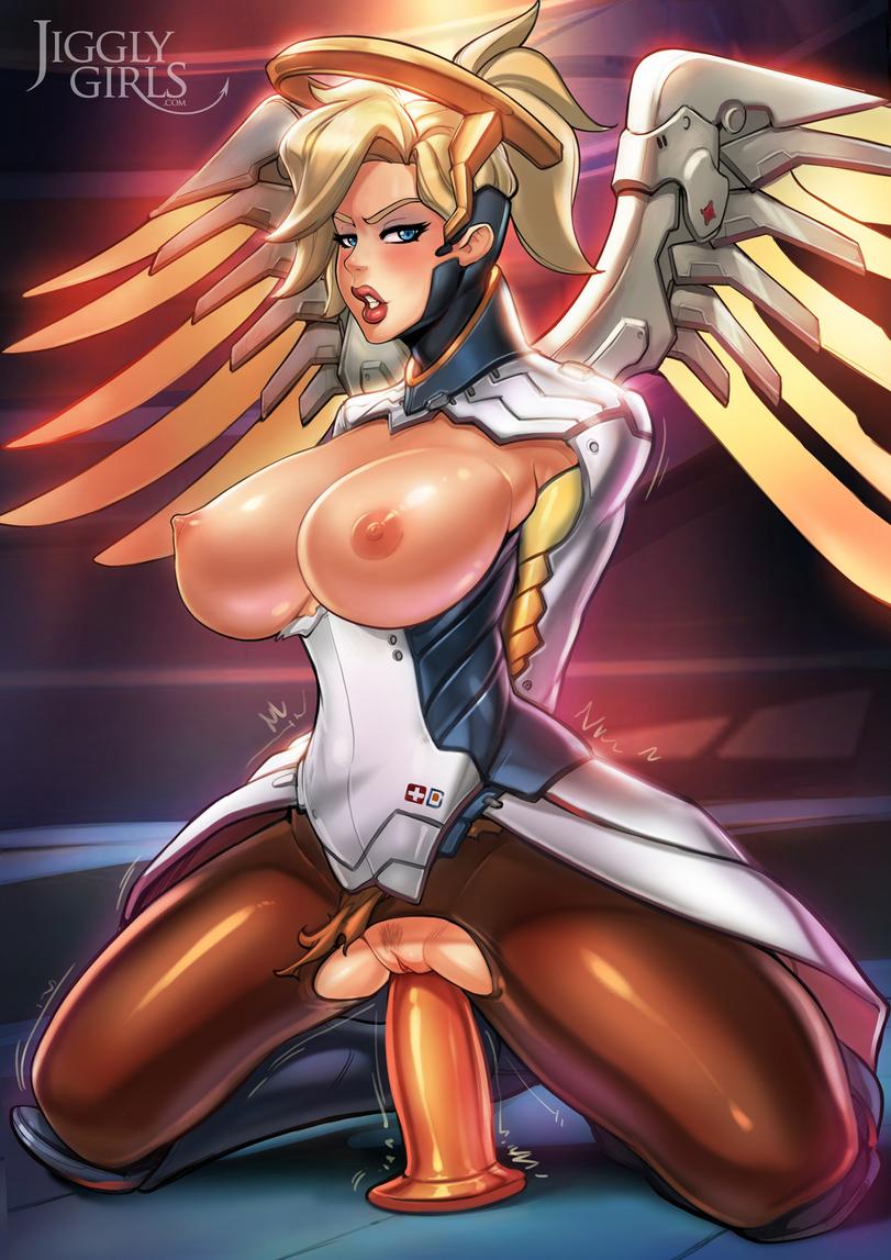 Big Tits Mercy Masturbation