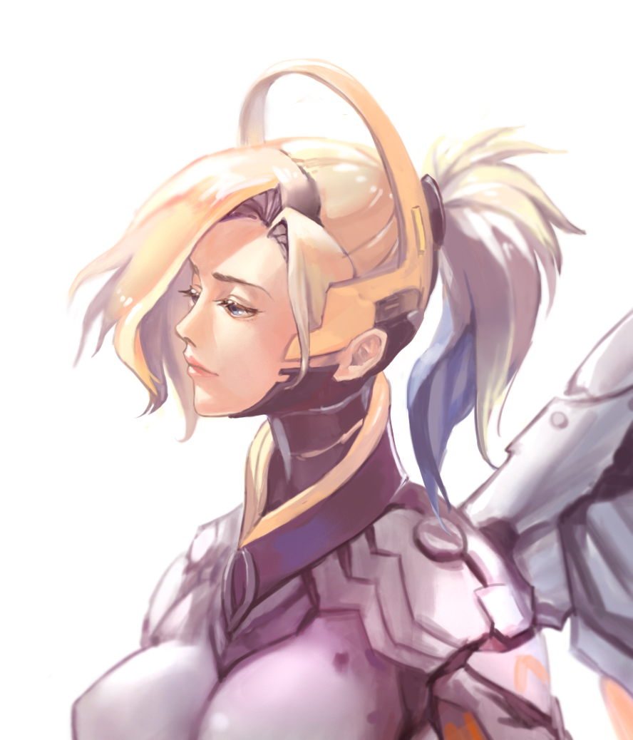 Cute Busty Mercy