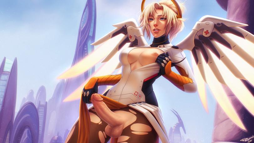 Mercy Futanari
