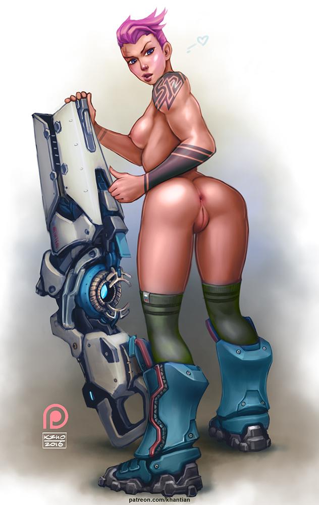 Sexy Ass Zarya