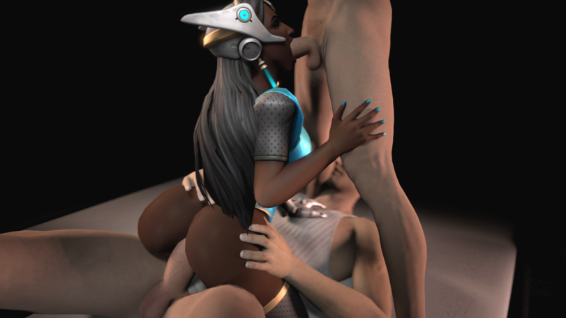 Symmetra Threesome Sex