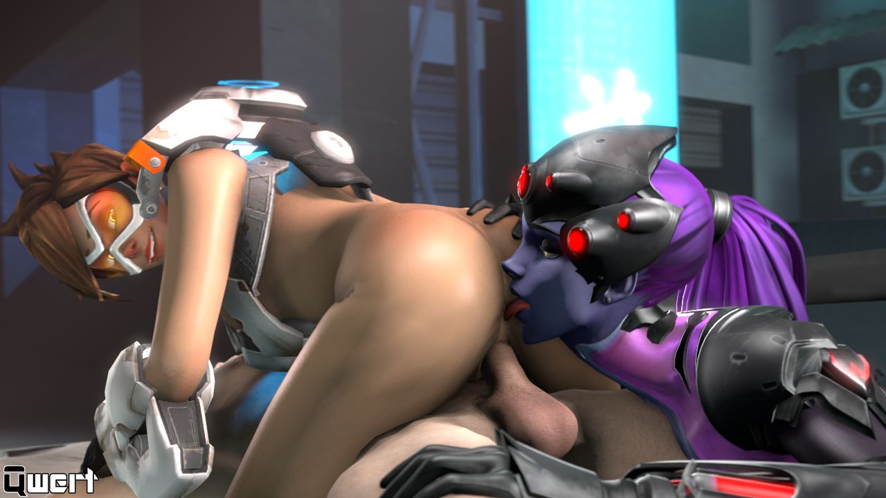 Tracer Cowgirl Licked By Widowmaker