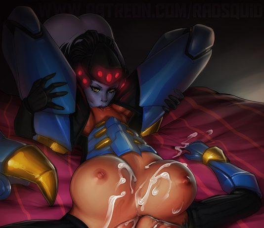 Widowmaker Licking Pharah Pussy