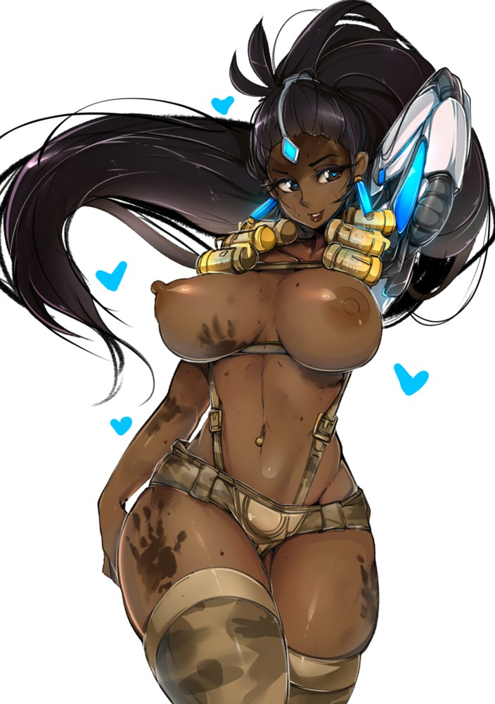 Amazin Big Boobs Symmetra is a Dirty One