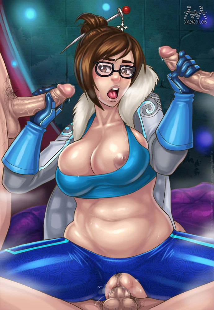 Big Boobs Mei Foursome
