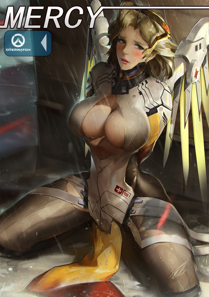 Big Boobs Mercy from Overwatch