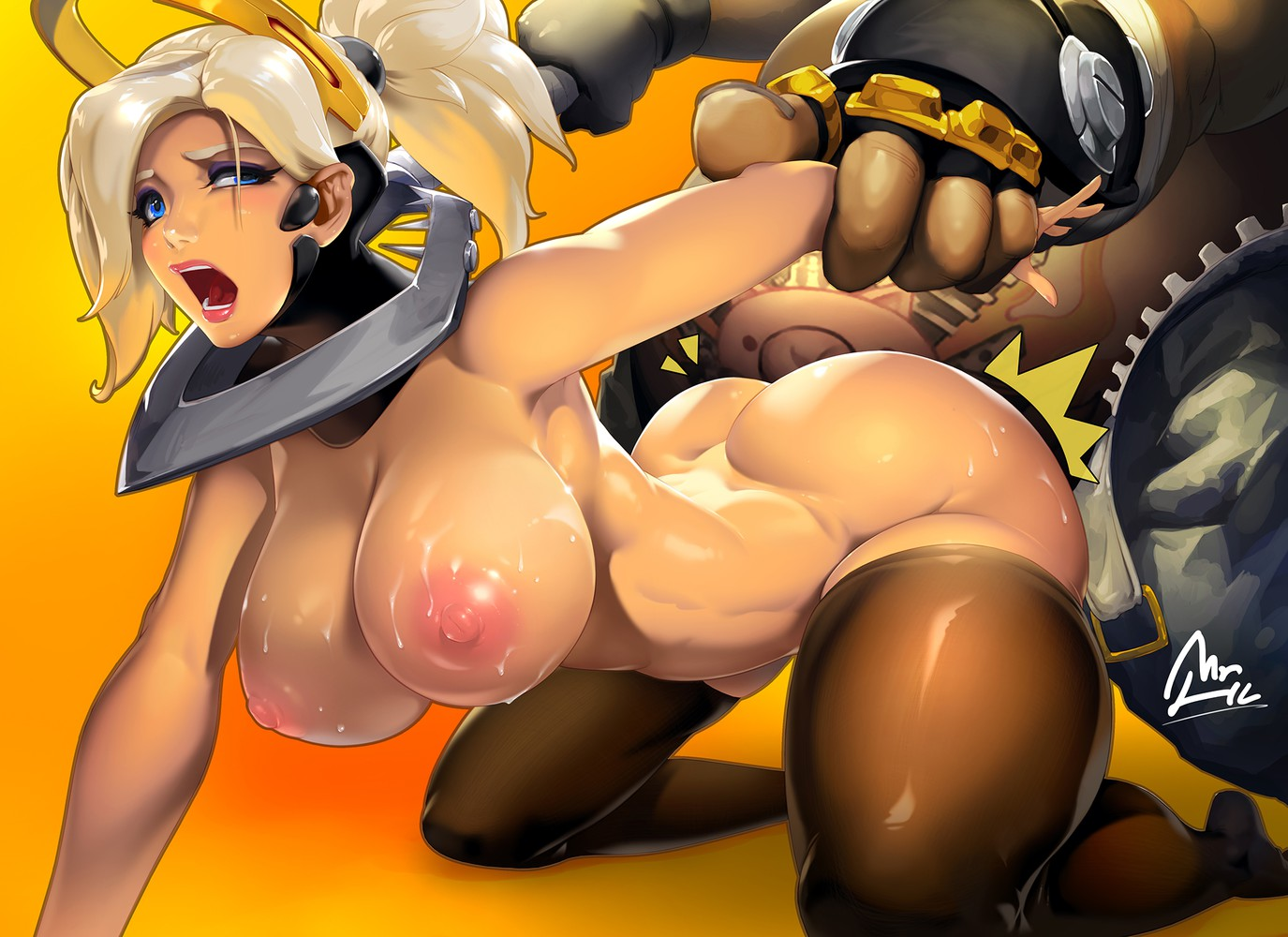 Big Tits Mercy Doggystyle Cartoon