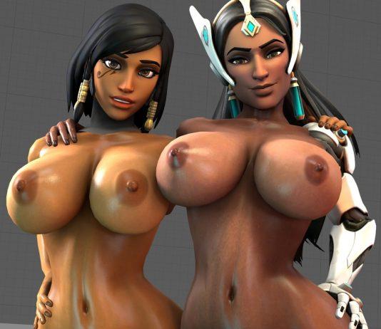 Big Tits Pharah And Symmetra