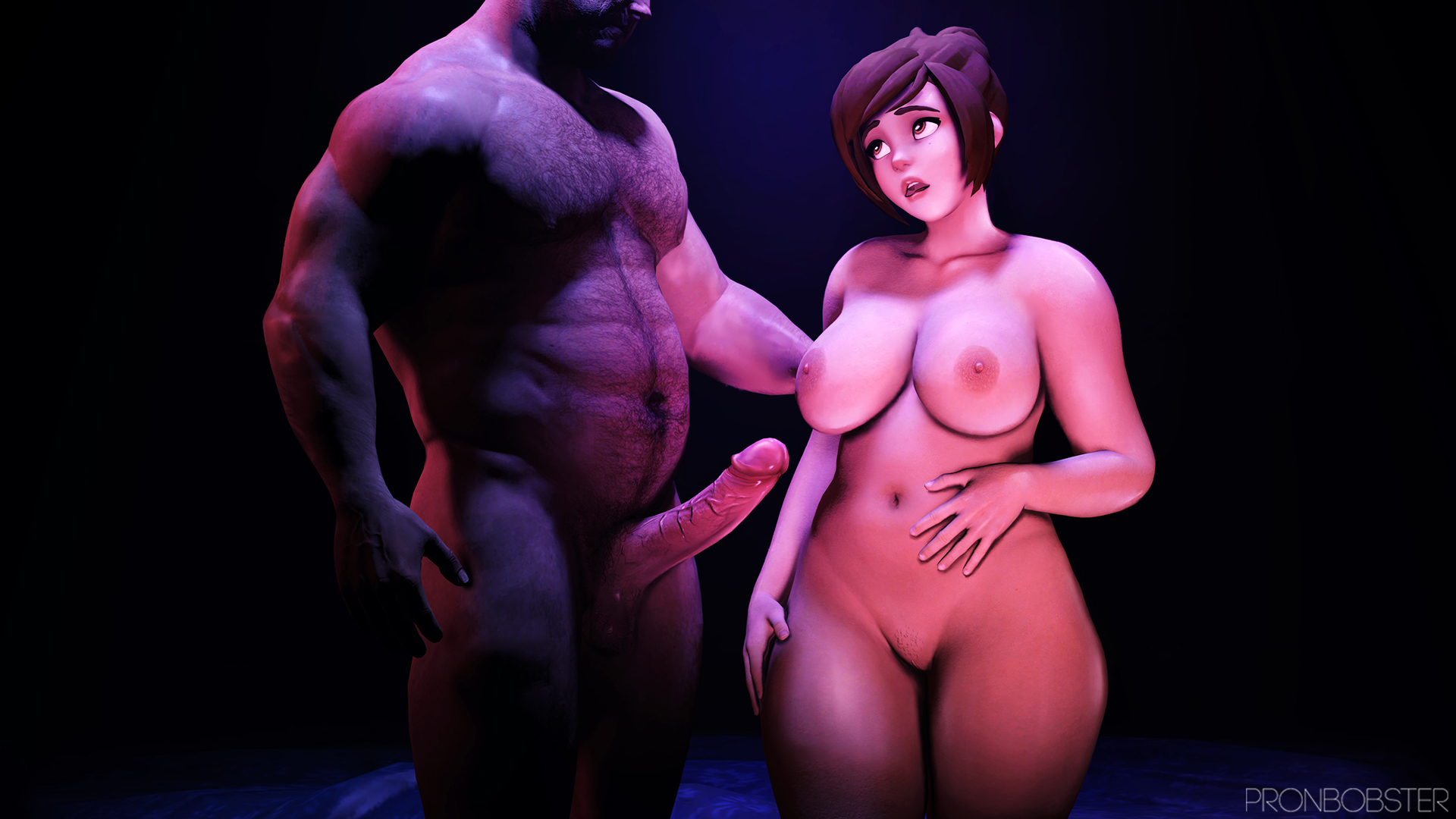 Curvy And Big Tits Mei Before Sex