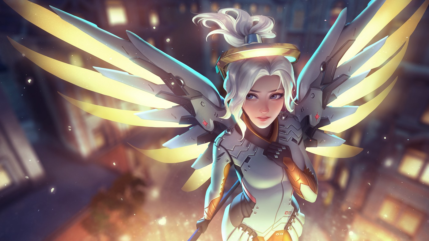 cute mercy overwatch