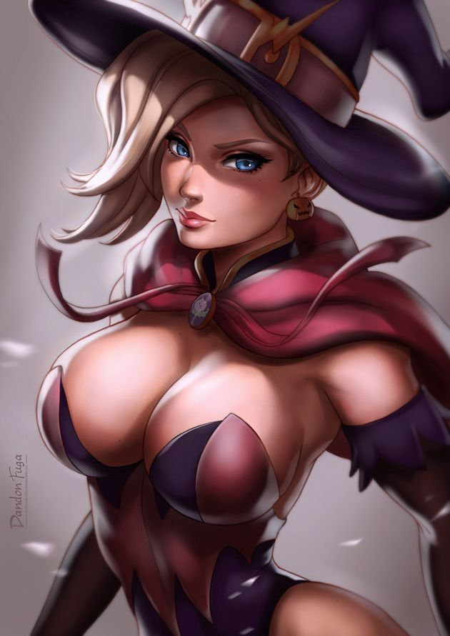 Big Boobs Halloween Mercy