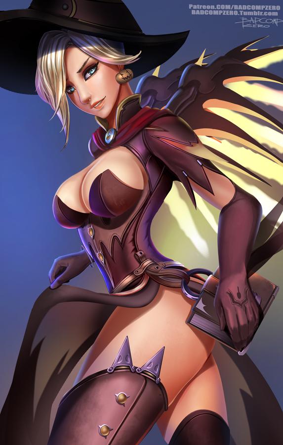 Big Tits Halloween Mercy
