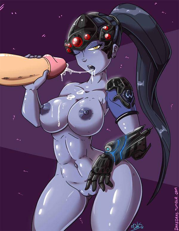 Big Tits Widowmaker Blowjob