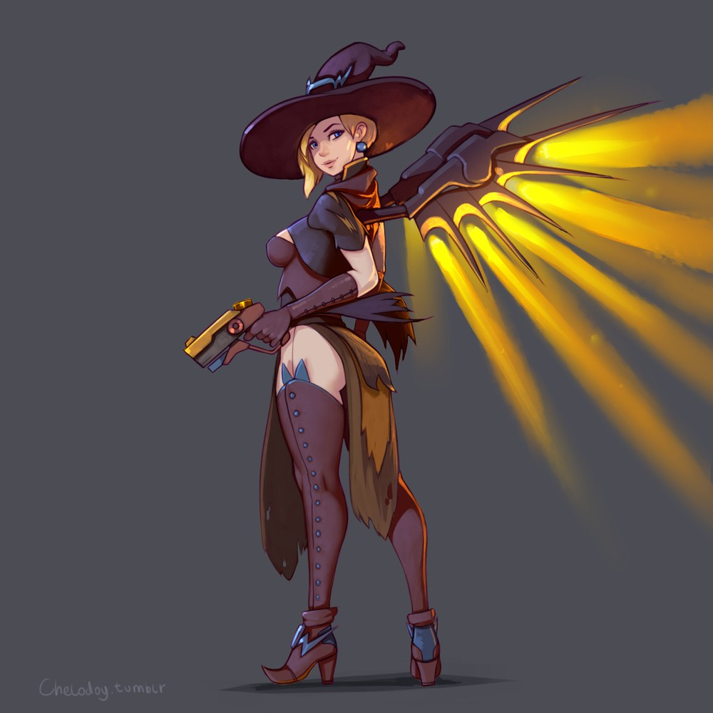 Halloween Costume Mercy
