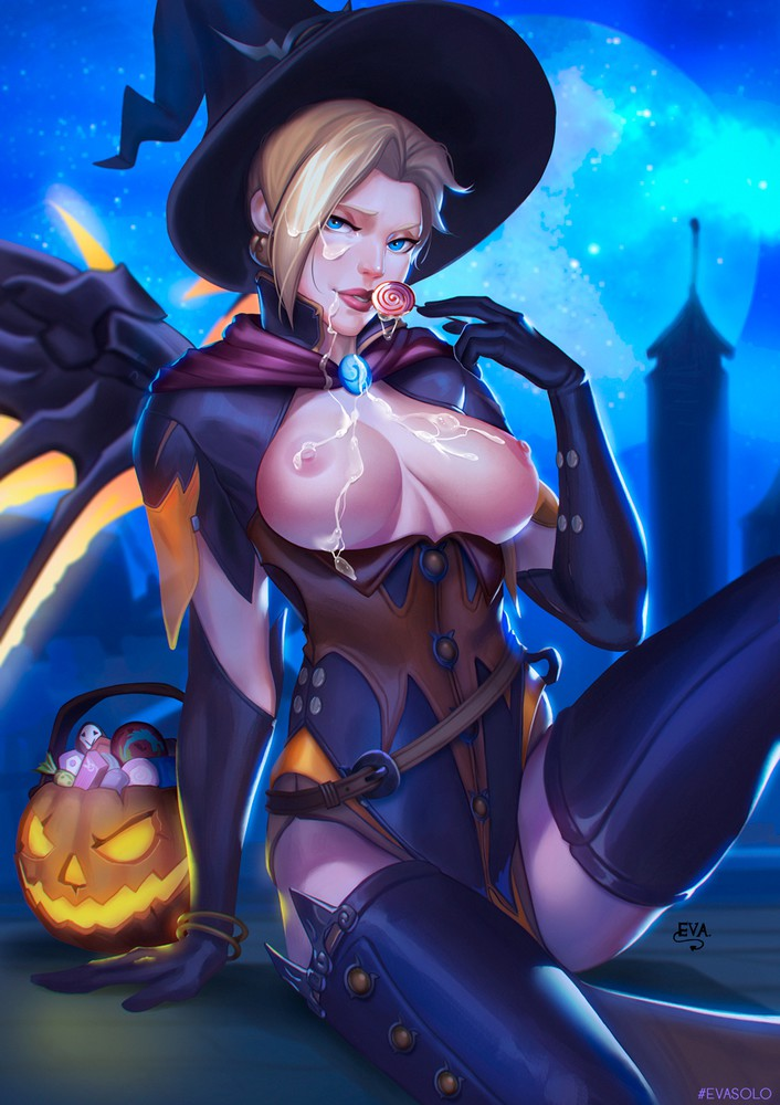 Halloween Mercy with Jizz