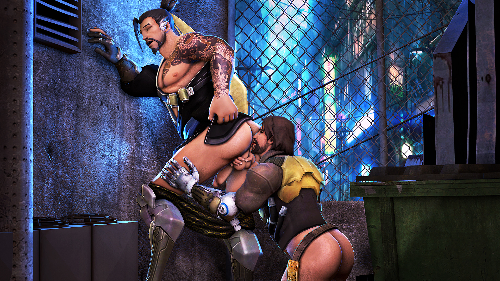 Hanzo Licked in the Ass