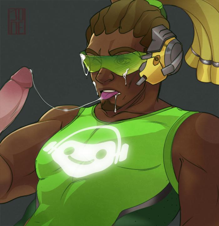 Lucio Blowing Cock