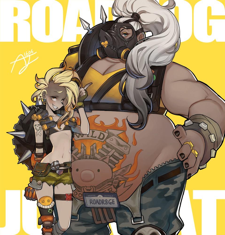 Roadhog and Junkrat