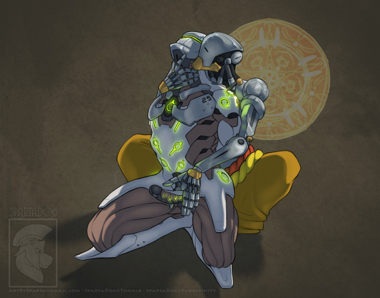 Zenyatta and Genji