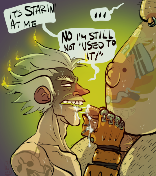 junkrat sucking roadhog