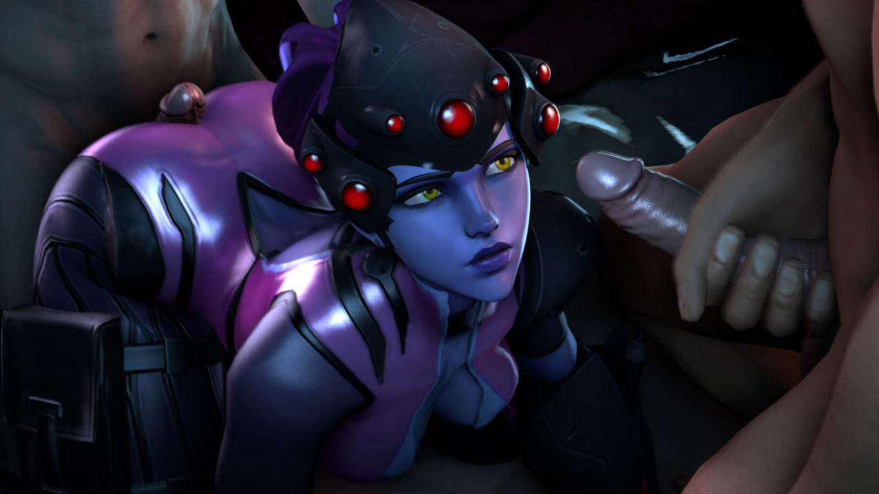jerking-over-widowmaker