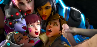 Overwatch Babes Cock