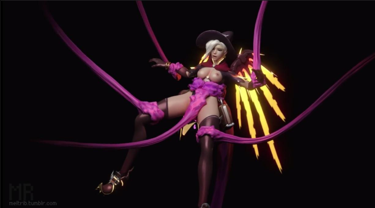 Anime Tentacle Porn Female Pov overwatch mercy tentacle sex - overwatch hentai
