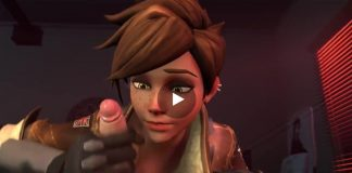 Overwatch Tracer Porn Blowjob and Fuck