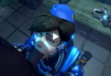 Tracer Big Black Cock Blowjob Overwatch
