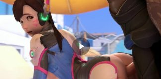 DVA DoggyStyle FUck Overwatch